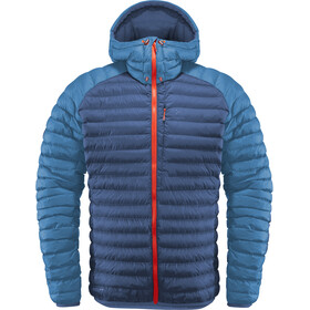 Haglöfs Essens Mimic Hooded Jacket Herre tarn blue/blue ink